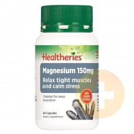 Healtheries Magnesium 150mg Capsules 60