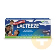 Lacteeze Extra Strength Chewable Tablets 10