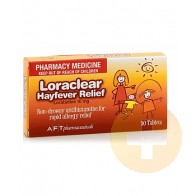 Loraclear Hayfever Relief 10mg Tablets 30