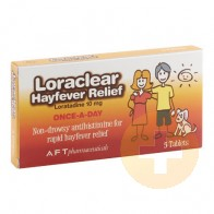 Loraclear Hayfever Relief 10mg Tablets 5