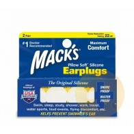 Mack's Pillow Soft Silicone Ear Plugs