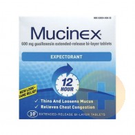 Mucinex Expectorant Tablets 10