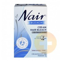 Nair Cream Hair Bleach Face/Body 28g