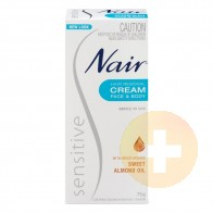 Nair Sensitive Hair Remover Cream 75g