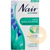 Nair Easiwax Mini Reusable Wax Strips 20