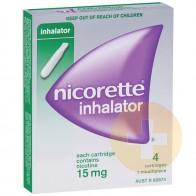 Nicorette Inhalator 15mg Cartridges 4