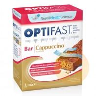 Optifast Weightloss Bar Cappuccino 6 x 60g