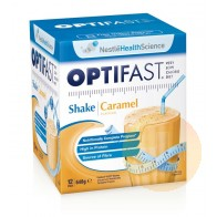 Optifast Weightloss Caramel Milkshake 12x54g Sachets