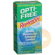 Opti-Free Replenish Solution 120ml