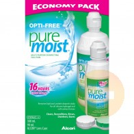 Opti-Free PureMoist Contact Solution Economy Pack