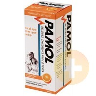 Pamol All Ages Orange Colour Free 200ml