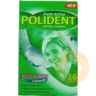 Polident Fast Action Tablets 36s