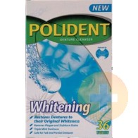 Polident Denture Whitening Tablets 36