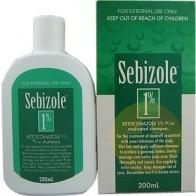 Sebizole Shampoo 1% 200ml