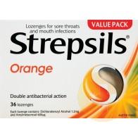 Strepsils Orange Lozenges 36