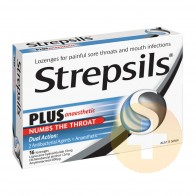 Strepsils PLUS Lozenges 16