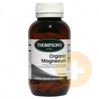 Thompsons Organic Magnesium Tablets 50
