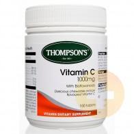 Thompsons Vitamin C 1000mg Chewable 150s