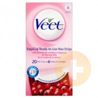 Veet Hair Removal Wax Strips 20