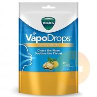 Vicks Butter Menthol Vapodrops Lozenges 24
