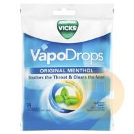 Vicks Original Menthol Vapodrops Lozenges 24