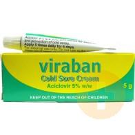 Viraban Coldsore Cream 5g