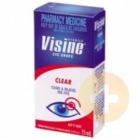 Visine Clear Eye Drops 15ml