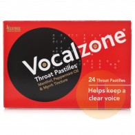 Vocalzone Throat Pastilles 24s